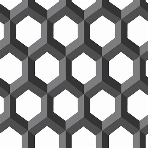 hex black geometric wallpaper wallpaper