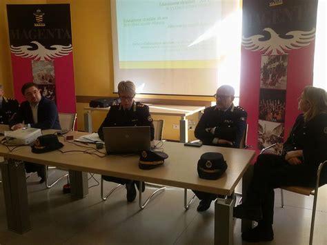 dati polizia la polizia locale di magenta presenta i dati 2017