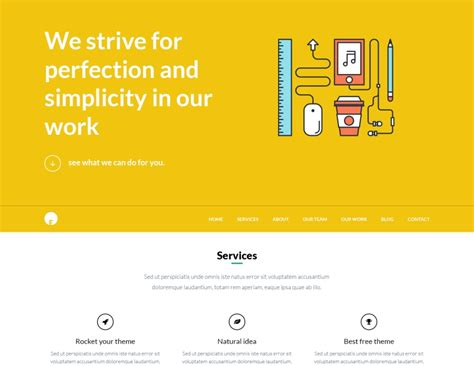 wordpress theme one page layout oneengine free one page wordpress theme enginethemes