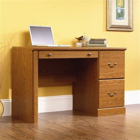 sauder orchard wood carolina oak computer desk ebay