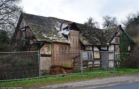 Building An In Cottage by Haunted Cottage In Willersley Herefordshire