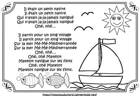 dessin d un bateau sur l eau coloriage comptine bateau sur l eau meilleures id 233 es