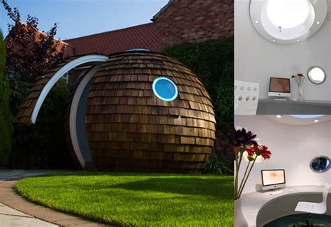 cool office gifts archipods garden office would be a cool gift ticatoca