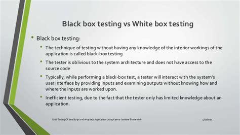 unit testing of java script and angularjs application