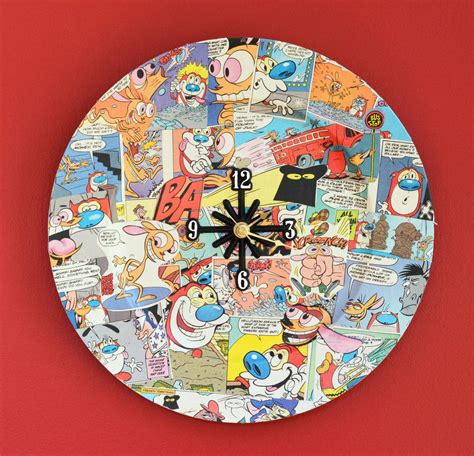 Paper Craft Books Free - comic book charger plate diy clock allfreepapercrafts