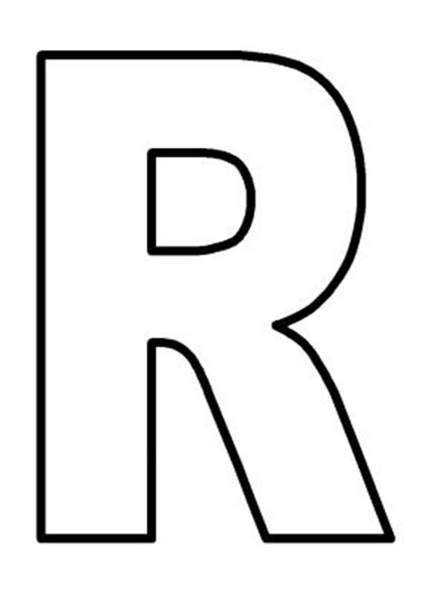 coloring page letter r free coloring pages of capital letter r