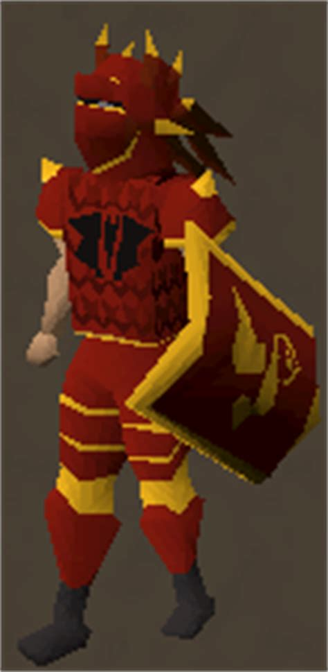 dragon full helm 2007 runescape image dragon armour g equipped png the old school