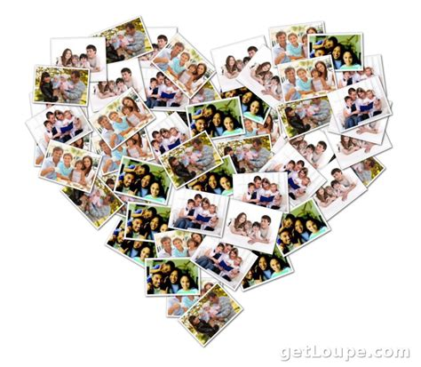 themes for photo collages mother s day gift ideas shape collage blog
