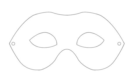 blank mask template printable mask template images