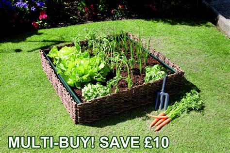 Vegetable Planterbag Raised Bed Hijau Willow Raised Flower Bed Vegetable Salad Planter Pvc Grow Bag Pot Ebay