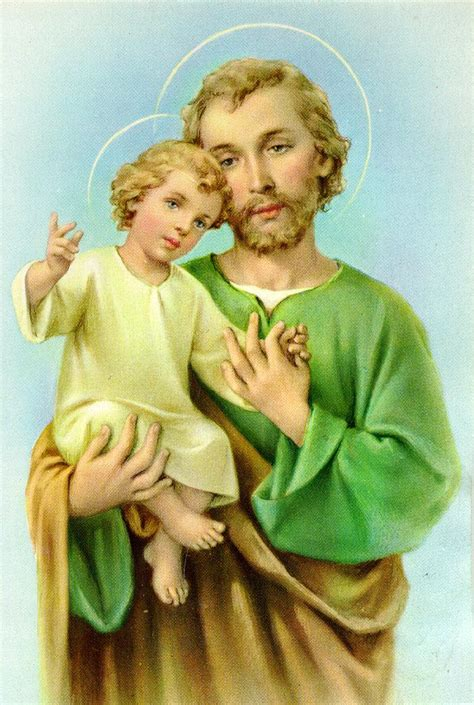 who was st st joseph patron of the universal church and the dying