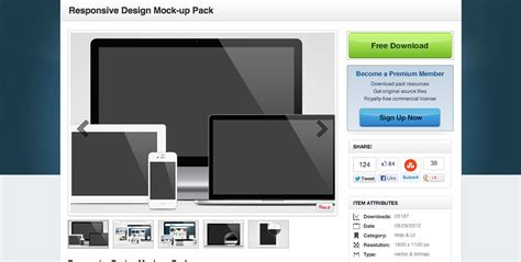 responsive design mockup pack 40 free psds and actions for mock ups webdesigner depot