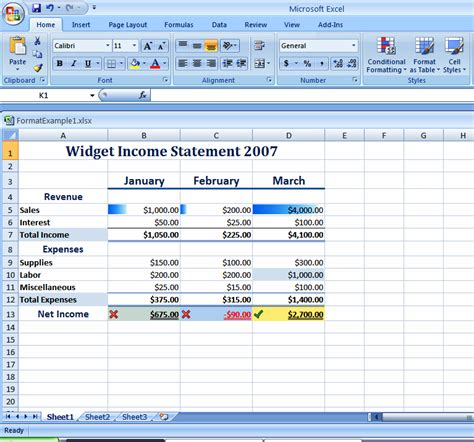 format microsoft excel 2007 how do i use pre built style features to format excel