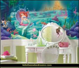 Girls Sheer Curtains Decorating Theme Bedrooms Maries Manor Little Mermaid