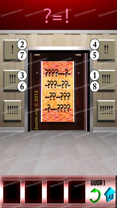 100doors lvl 4 100 doors level 19 game solver