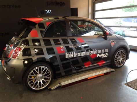 car wrap design matte black  glossy black  red