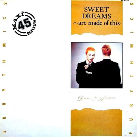 sweet dreams are made of these sweet dreams are made of this by eurythmics 12inch with