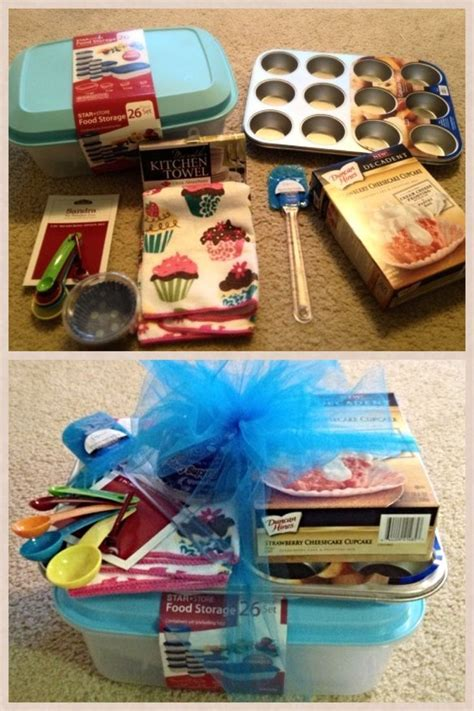 themed gift ideas bridal shower gift cupcake theme gifts pinterest