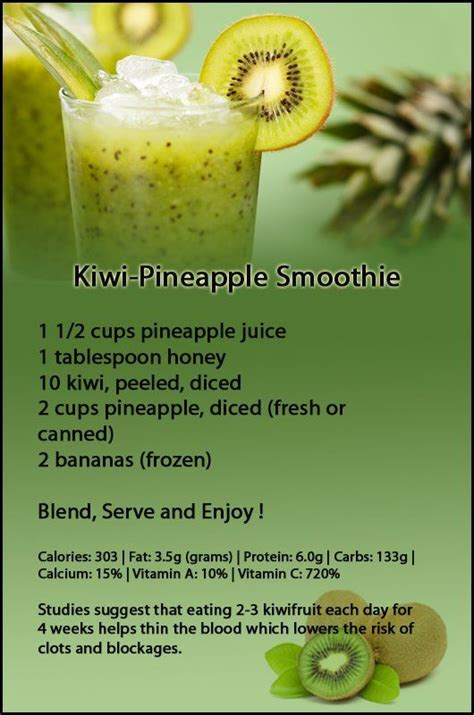 Kiwi Banana Detox Smoothie by 53 Best Images About Smoothies Drinks On