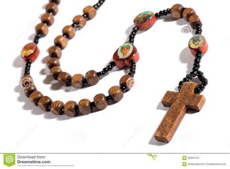 white rosary catholic rosary on white stock photo image 60655124