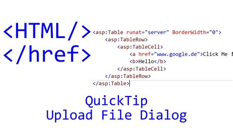 Html Tutorial Upload File | quicktip 88 html tutorial upload file dialog