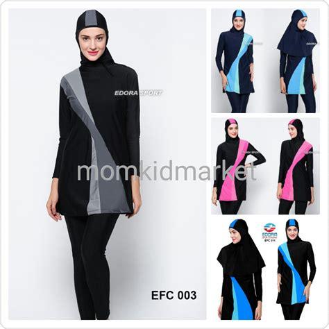 Baju Renang Wanita Dewasa Muslimmuslimah Polos baju renang muslim premium wanita muslimah dewasa efc 009