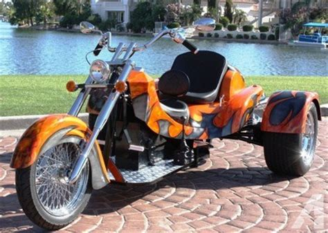 motorcycle trike custom trike chopper trike vw trike motorcycle  sale  los
