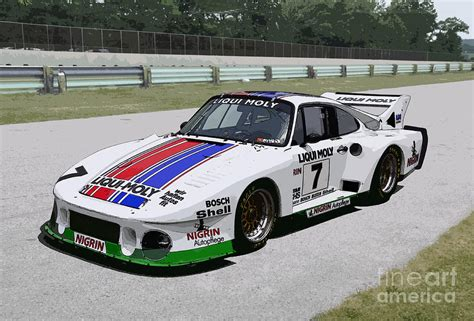1970 porsche 935j slant nose race car photograph by tad gage