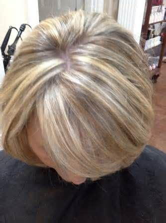 perm and blend gray with blonde 14 best blonde highlights for gray hair ideas images on