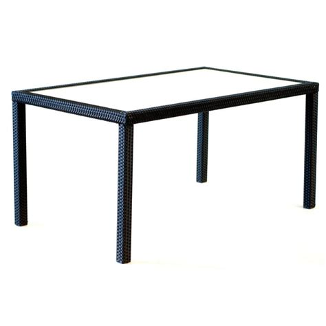 table jardin resine tressee table en r 233 sine rectangulaire de jardin