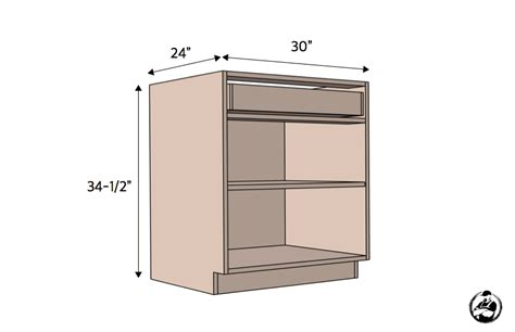 30in Base Cabinet Carcass Frameless Rogue Engineer Ana