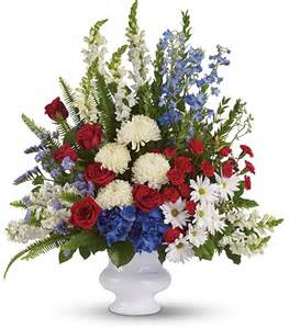 Condolence Gift Baskets Funeral Flowers For Veterans