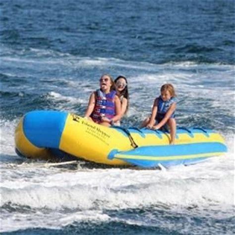 destin boat rides destin banana boat rides with fwb parasail tripshock