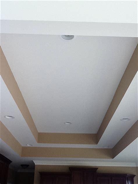 Step Up Ceiling by 25 Lot 21 Ranch Kitchen Step Ceiling