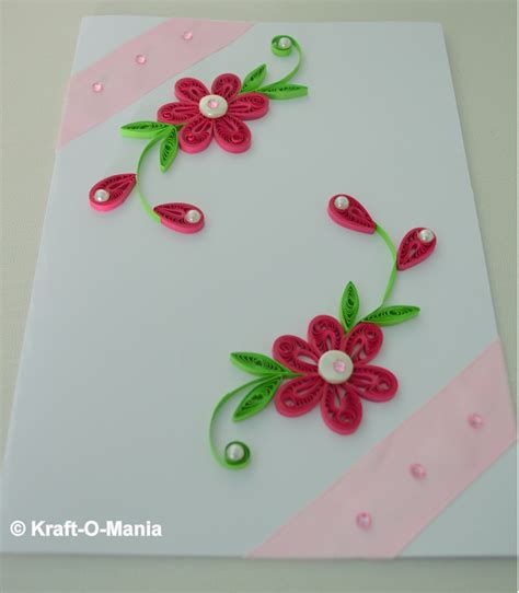 Greeting Cards Handmade Paper - handmade card paper quilling greeting card shopping