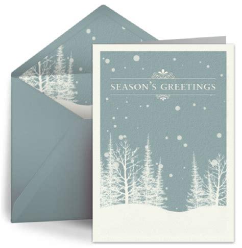 green  eco friendly christmas ecards