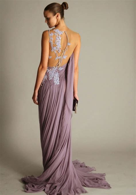backless gown dressed up