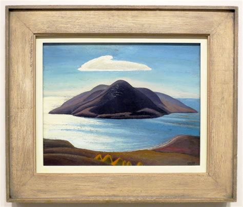 the idea of north pic island by lawren harris at ago toronto in the idea of north exhibition loulou downtown