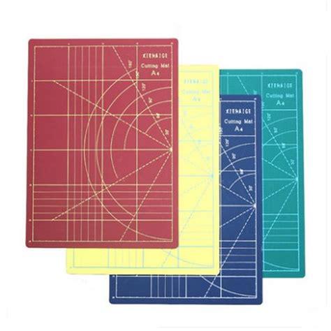 Plat Pvc 2 Mm 40x60 Cm pvc a4 cutting mats 30 22cm engraving plate 4 colours diy rubber st tool a4 sided