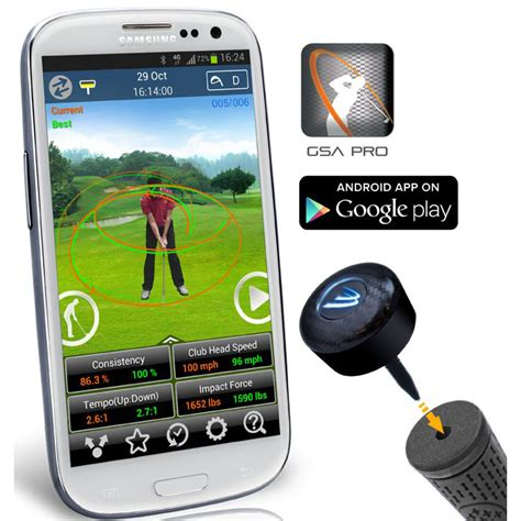 swing analyzer 3 bays gsa pro golf swing analyzer android new