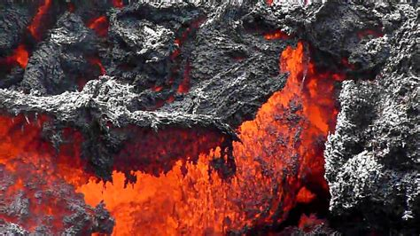 How Are Lava Ls Made by Pacaya Volcano Guatemala Lava Flowing A Mountain Being