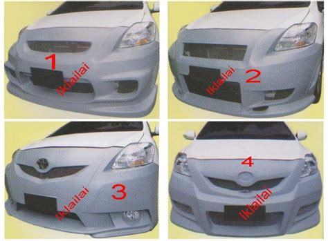 Bemper Vios 1 By Autolia toyota vios 07 12 front bumper ings c west a lelong