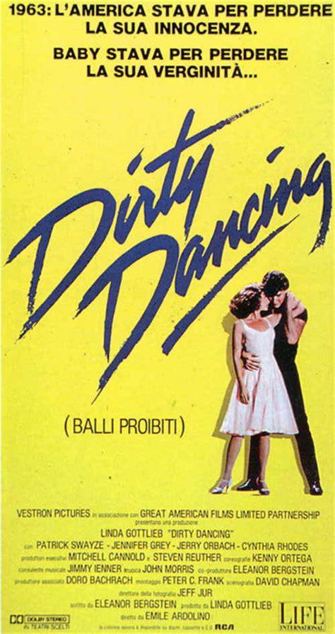 film up scheda dirty dancing balli proibiti film 1987