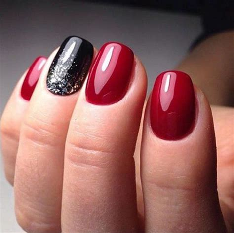 cool red nail color short nail design 2016 70 latest photos nailset net