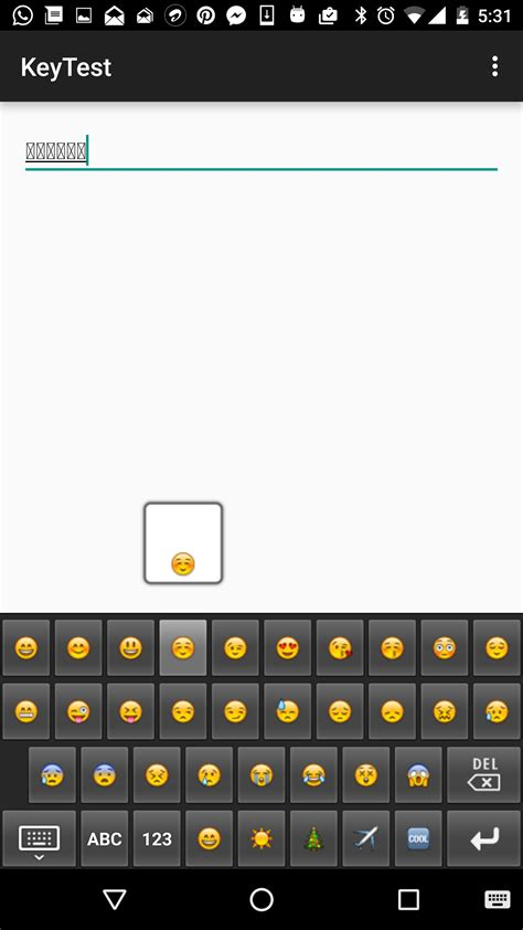 how to see emojis on android how to commit emojis using android ime stack overflow