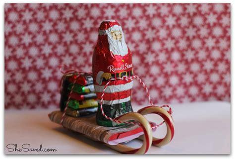 sleigh christmas crafts santa sleigh craft shesaved 174