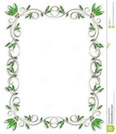 border design element green 3 stock illustration image