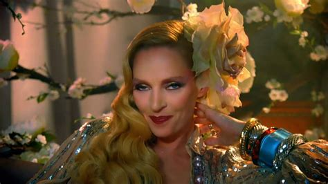 Uma Thurman Wants To Quit Acting To Take Care Of by Schweppes Tv Spot Uma Thurman Aired In Europe In 2011