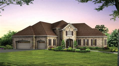 One Story House Plans With Two Master Suites master br downstairs home plans main level master