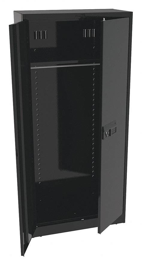 Tennsco Storage Cabinet Tennsco Storage Cabinet Black 36in Wx1 Shelf 39fr87 7818welbk Grainger